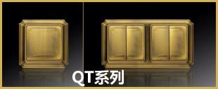 金色面板开关QT系列
