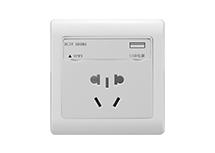 USB防尘门带五孔插座 RB-24217