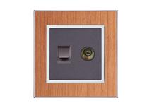 电视 电脑 电话 插座 RB15-018