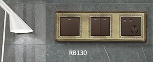 130青铜连体开关床头柜