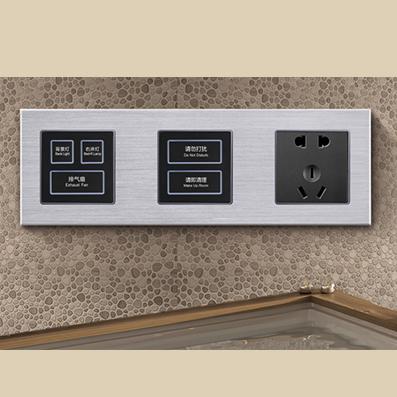RB326弱电轻触连体开关床头柜