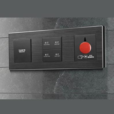 RB329弱电轻触连体开关床头柜