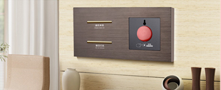 RB280弱电轻触连体开关床头柜(玫瑰金铝材拉丝)